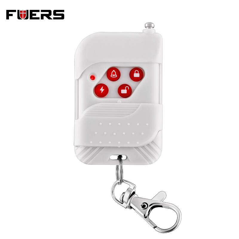 Fuers Wireless Keychain Remote Control Key Telecontrol For 10A Alarm System Wireless Remote Home Burglar Security Alarm System