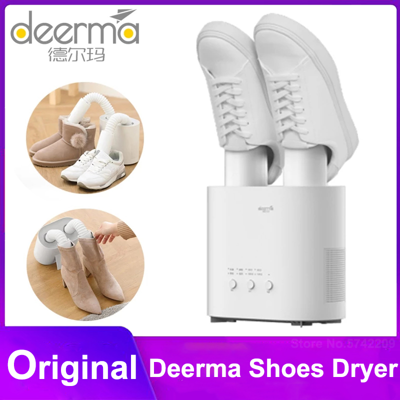 Deerma Shoes Dryer Sterilizer UV Shoe Dryer Intelligent Multi Function Retractable Dryer U shape Dry shoes For Shoes From Youpin|Shoe Racks & Organizers| - AliExpress