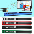 Formato JPEG/PDF Pen Tipo Handheld 900DPI USB 2.0 de Alta Velocidade Mini Display LCD Compacto Scanner de Documento Portátil #5