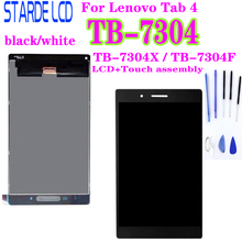 For Lenovo IdeaTab 4 TB-7304X TB-7304F TB-7304 TB 7304X LCD Display 7304F Touch Screen Digitizer Assembly Tablet Matrix Parts lovain 5pcs original for lenovo xiaoxin tb x804n x804 tb x804f 10 1 lcd display touch screen digitizer panel assembly dhl free
