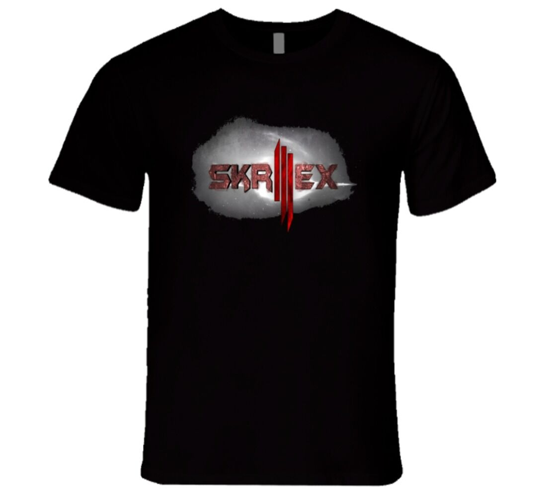 <font><b>SKRILLEX</b></font> DJ ELECTRONIC HOUSE MUSIC DESIGN <font><b>T</b></font> <font><b>Shirt</b></font> image