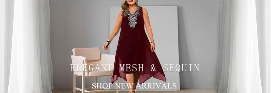 Party Dress Women's Summer Dress for 2021 Elegant Sequin Mesh Women Casual Dresses