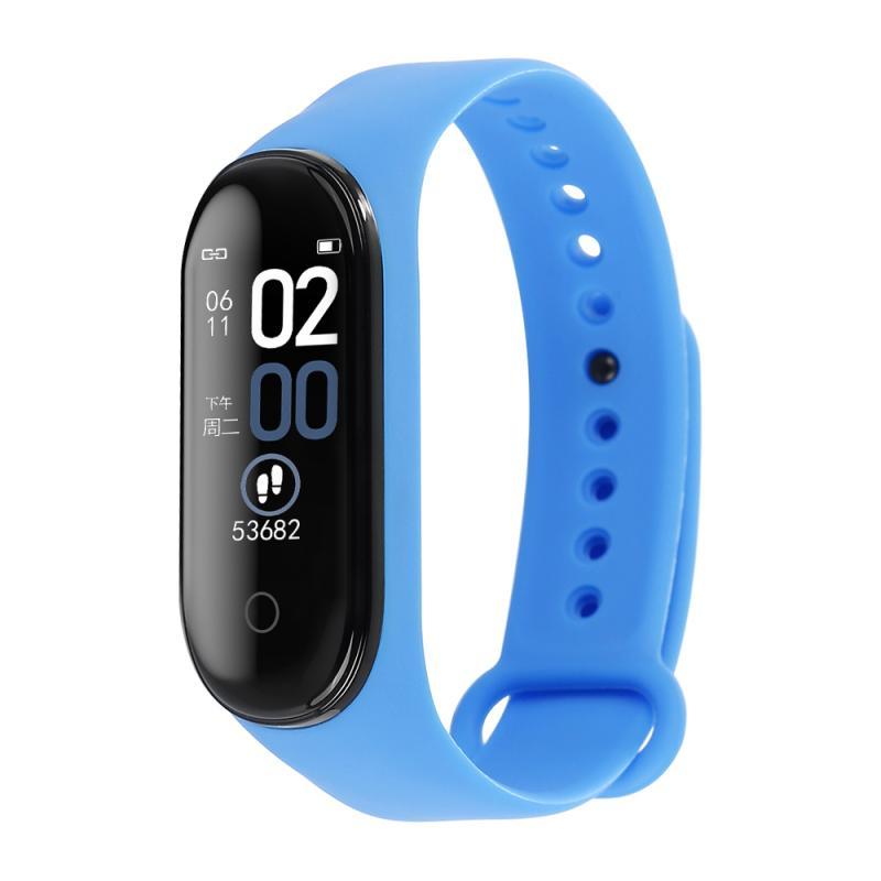M4 умные часы-браслет часы кровяное Давление частота сердечных сокращений фитнес-трекер Смарт-браслет здоровья браслет спортивный шагомер