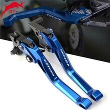 PER SUZUKI V STROM 1000 VSTROM DL 1000 2002 2020 Ultimo di alta qualità Del Motociclo di CNC Adustable Freno Leve di Frizione