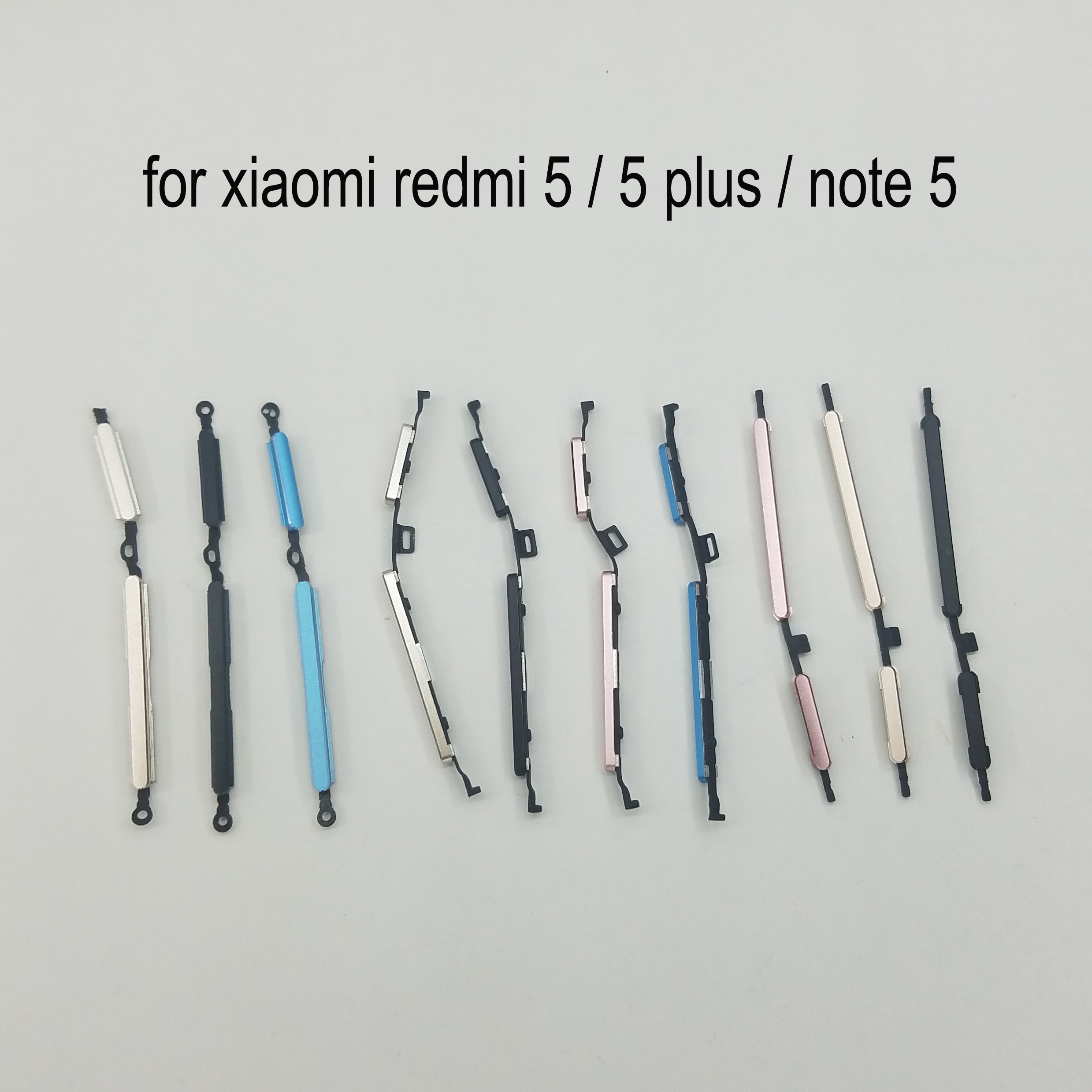 For Xiaomi Redmi 5 Plus Note 5 Original Phone Housing Frame New Power Volume Button Redmi Note5 5Plus On Off Side Key Replace