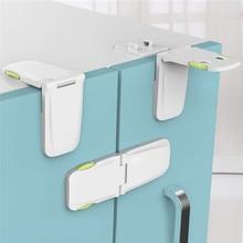 Cabinet Drawers Locks Child Safety Baby Proofing Latch Kitchen Storage Doors 4Packs M0903