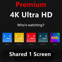 Globale version stream media Netflix 4K ultra HD für TV stick,android tv box smart tv windows pc 3 monate 1 bildschirm(China)
