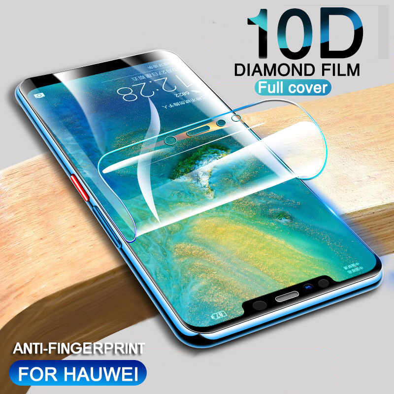 10D Soft Hydrogel Film For Huawei Honor 8A 9X 20i 10i V20 Screen Protector On Huawei Honor 8X Max 10 Lite 20S 20 8S Play 3 Film