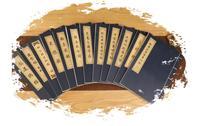 1pc Chinesische Xuan Papier Copybook Herz Sutra Fax Kopie buch Nachahmung Kalligraphie Reis Papier Schreiben Copybook Miao Hong auf