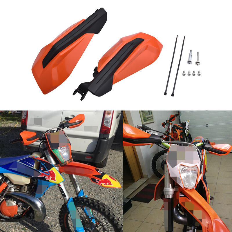 Motorcycle Hand Handlebar Handle Bar Guards Handguard For KTM XCW EXCF XCF XC 125 250 300 350 450 500 2017-2019 Moto Accessories(China)