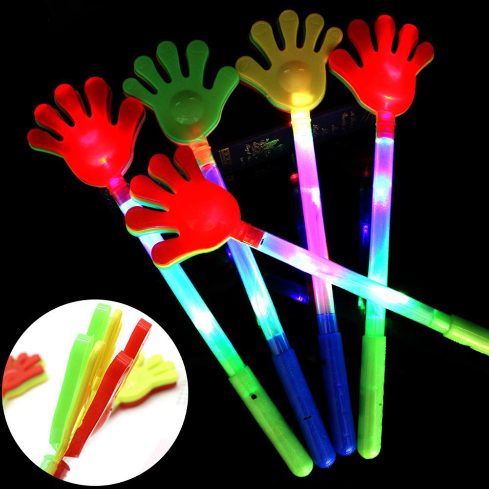 1Pc Flash LED Hands Clap Luminous Clapping Kids Toys Party Concert Supplies For Children Boys Girls Gifts New