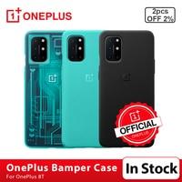 100%-funda Original para OnePlus 8 T, carcasa protectora 3D de piedra arenisca, para OnePlus 8 T 8 T