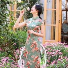 Новинка лета 2020 модифицированное китайское платье ципао из