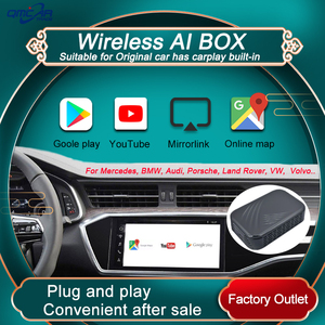 Android TV BOX For New Benz Audi VW Toyota Apple Carplay AI BOX Roof Mount Car TV Multimedia Player