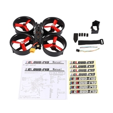 149Mm 3-Inch Culvert Carbon Fiber Through Aircraft FPV Indoor Aerial Photography UAV 4-Axis Anti-Crash and Anti-Collision Frame zmr 200 through four axis quadcopter frame 200 all metal head one carbon fiber plate 4mm lightweight racing for uav fpv flysky