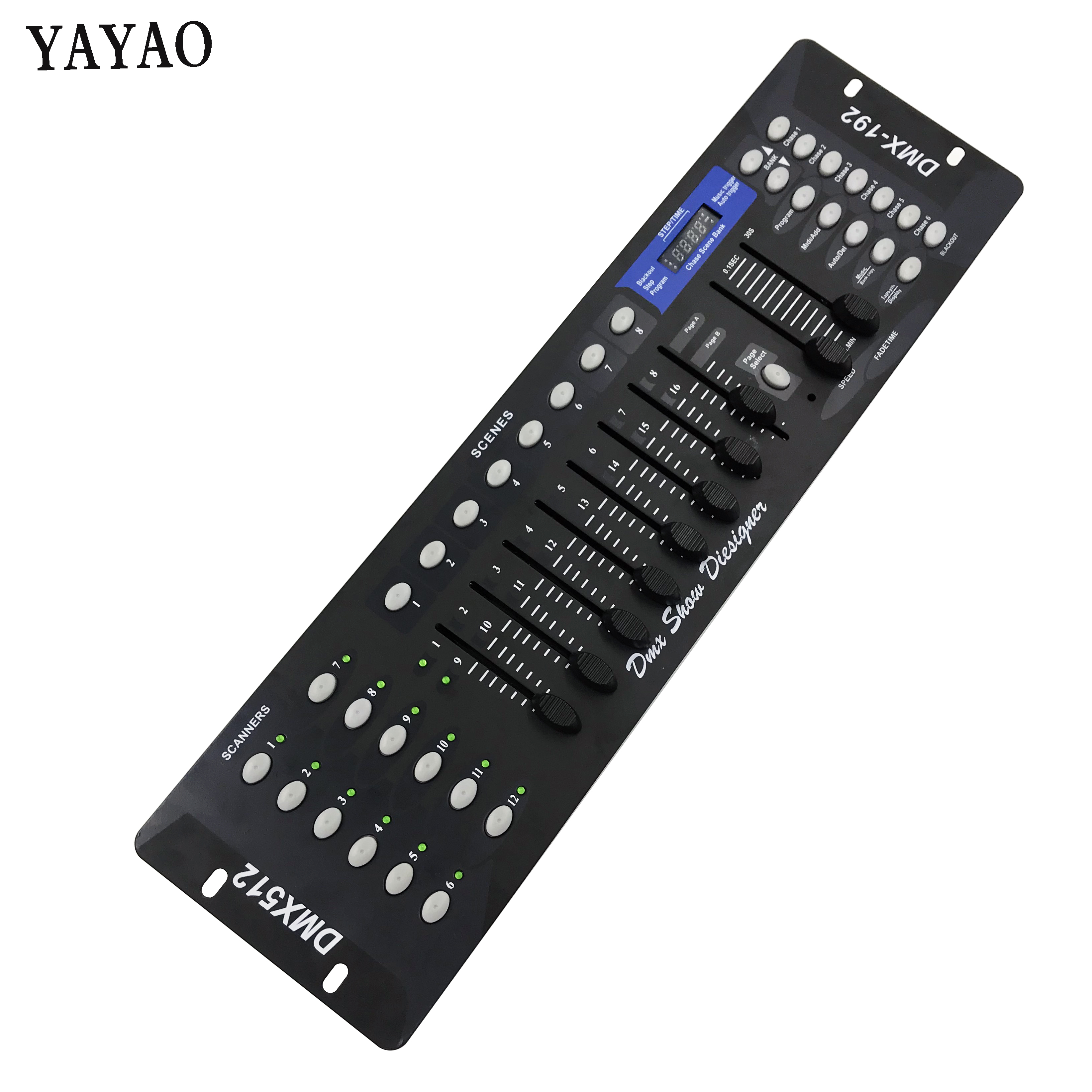 Free Shipping NEW 192 DMX Controller DJ Equipment 512 Console Stage Lighting For LED Par Moving Head Spotlights Controlle
