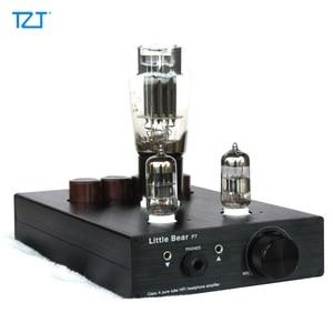 TZT P7 튜브 6N5P 헤드폰 앰프 Amp 이어 프리 앰프 프리 앰프 Pure Bile