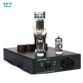TZT P7 Tube 6N5P Headphone Amplifier Amp Ear Preamplifier Preamp Pure Bile