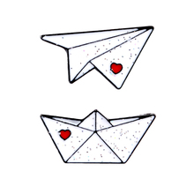 Paper plane Boat Enamel Pins Custom Love Brooches Lapel Pin Shirt Bag Aircraft Ferry Badge Mini Jewelry Gift For Kids Friends crafty bch enamel pins custom heart shape brooches lapel pin shirt bag pink scissors badge jewelry gift for friends