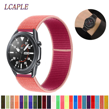20 22mm band pebble time samsung galaxy watch active 42 46 gear sport s2 s3 zenwatch 1 2 ticwatch e pro c2 neo live strap 20/22mm Huawei watch GT 2 Strap for Samsung active Gear S3 Frontier 42/46 mm GT2 3 Nylon bracelet Galaxy Watch 46mm/42mm band