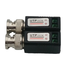 Single Channel Passive Twisted Pair Transmitter 203E Double Video Balun