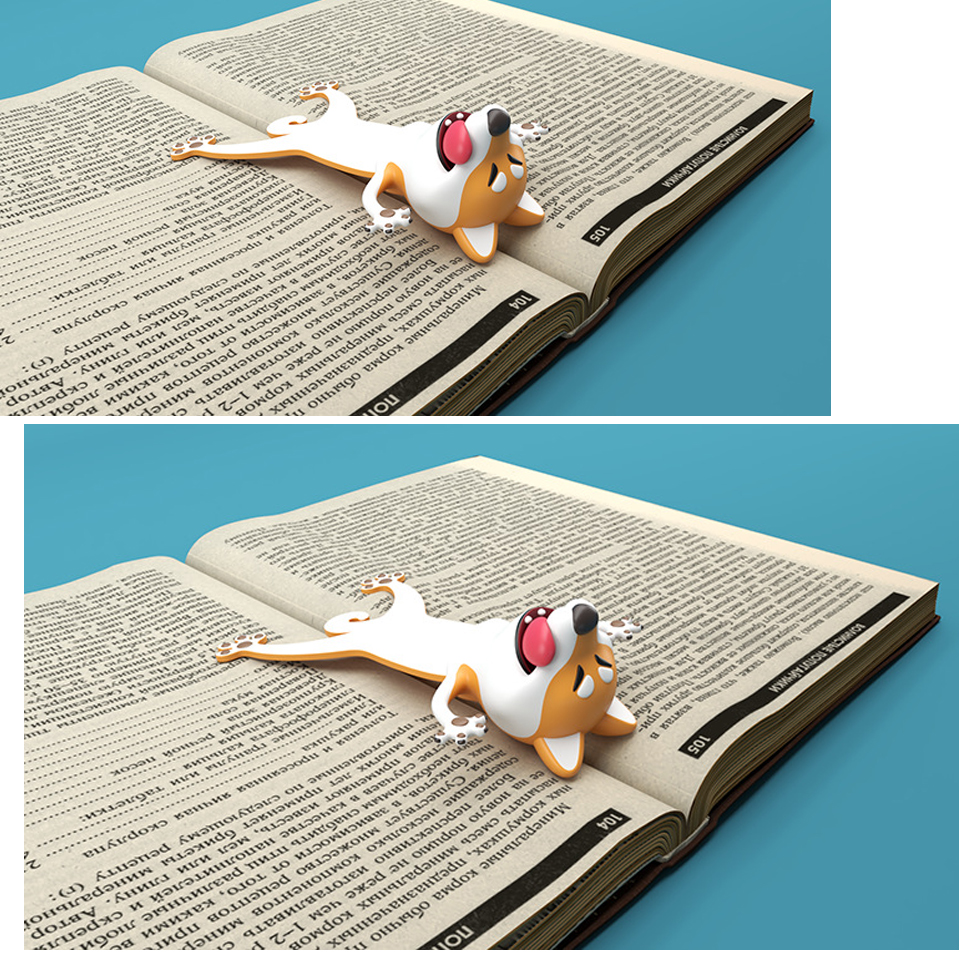 Create interesting bookmark special 3D Office stationery Read children desk toy gift Lovely whimsy