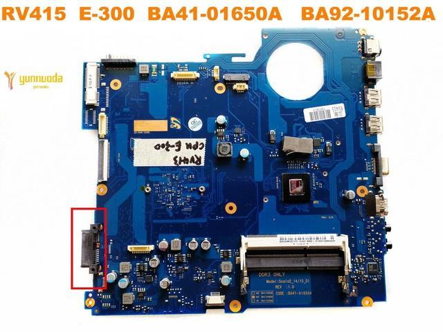 Original for Samsung  RV415 laptop motherboard RV415  E 300  BA41 01650A   BA92 10152A tested good free shipping