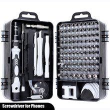 Mini Precision Screwdriver Set with 115 Bits for Phone Computer PC Watch Glasses Mini Home Appliance Repair Tools