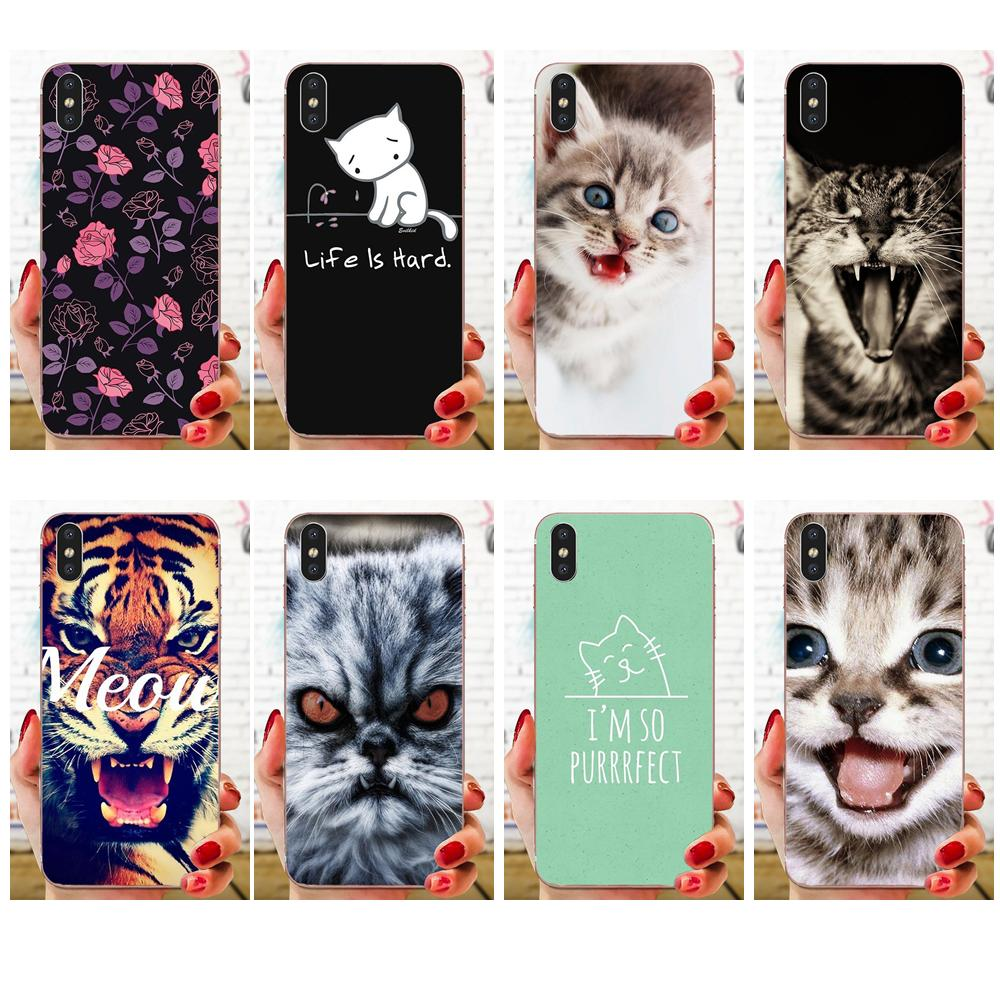 Super Promo 7935 Meow Cute Cat For Samsung Galaxy Note 5 8