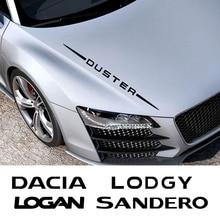 자동차 전체 바디 스티커 Dacia 먼지 떨이 1.0 Tce 터보 GPL Logan Sandero Xplore Lodgy 자동차 액세서리 비닐 필름 데칼