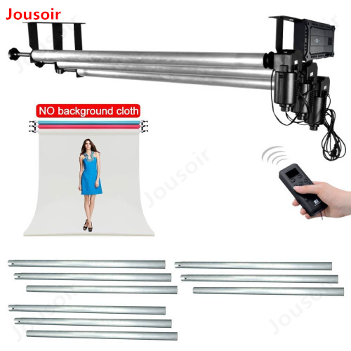 Studio 4 Roller Motorized Electric Background Backdrop Support System Kit for Photography Video Photo d50 2Y