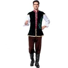 4pcs Oktoberfest Costume Bavarian German Festival Beer Halloween Men Costumes Plus Size Pagoda Sleeve  Traditional Trousers