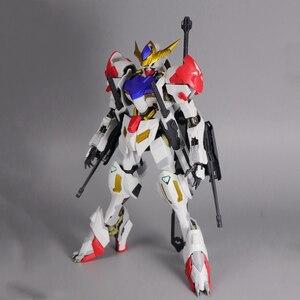 Image 4 - سبيكة MG 1/100 ASW G 08 Gundam Barbatos HIRM كامل اللون شفاف الخارجي درع الجمعية نموذج عمل دمى أشكال