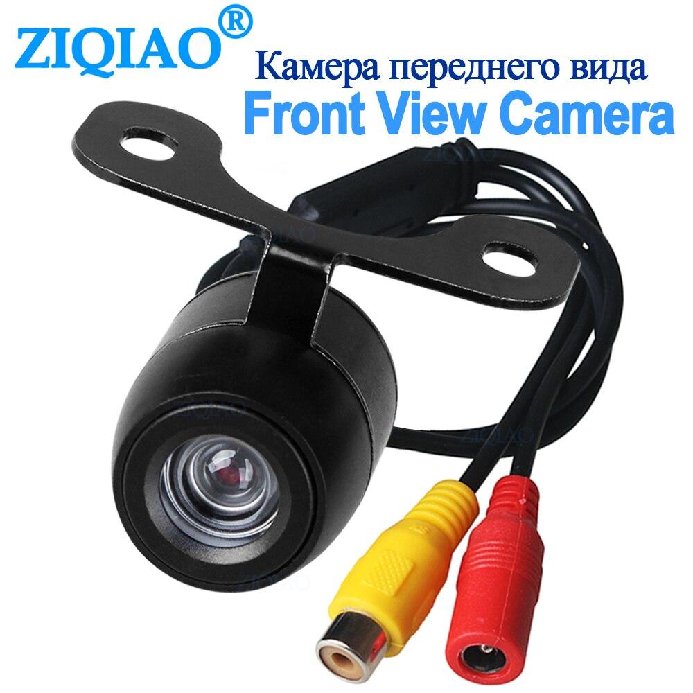 Car Front View Camera Backup Rear View Camera Rear Monitor Parking Assistance HD Waterproof Camera Reverse ZIQIAO