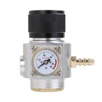 CO2 Regulator Mini Gas Regulator CO2 Charger Kit 0 90 PSI for Sodastream co2 Bottle Draft Beer Kegerator Soda