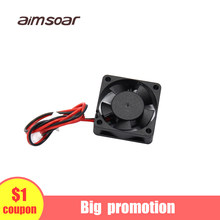 Kipas Angin 12 V 24 V Ender 3 Fan 30 Mm Fan 2 Pin 3d Printer Parts 3010 30*30*10 Mm(China)