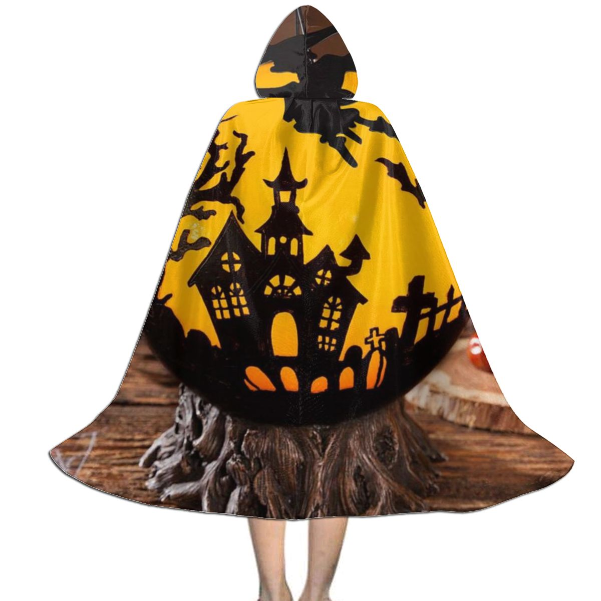Custom Kids Hooded Cape Cloak Children Witch Red Black Halloween Halloween Vampire Cosplay Scary Costumes Dropshipping