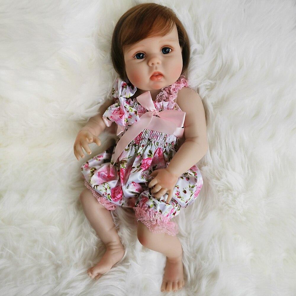 OtardDolls Bebe bebé Reborn muñeca 20 pulgadas 50cm completo de silicona vinilo bebé Reborn muñecas Adorable realista Niño para regalo Fast Shi - 4