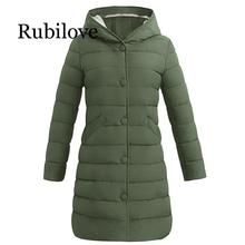 Rubilove New Winter Warm Parkas Women Down Jacket 2019 Thick Snow Wear Coat Lady Clothing Female Jack