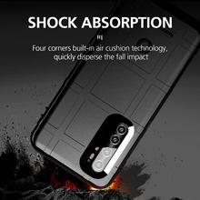 Shockproof Ruggen Shield soft Case For Xiaomi MI Note 10 Lit