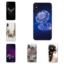 Pearl Crystal Diamond Rhinestone Bluesky For Galaxy A10S A20S A2 Core A30S A40S A50S A70S A90 5G M10 M30S M40 Note 10 Plus(China)