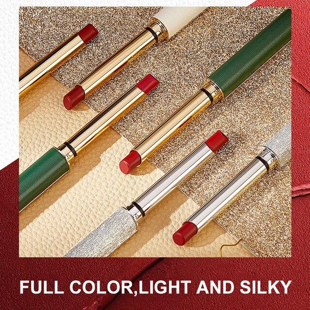 6 Colors Velvet Matte Lipsticks Pen Waterproof Long Lasting Sexy Red Lip Stick Gloss Moisturizing Makeup Lip Tint Pen Cosmetic 2
