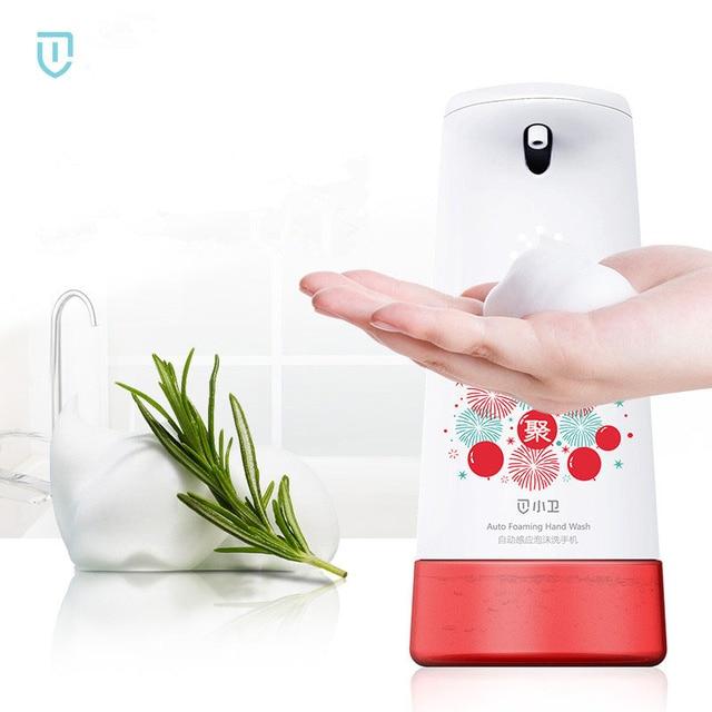 Xiaoweiインテリジェント自動誘導発泡手洗濯機石鹸ディスペンサーハンドワッシャー (更新版)