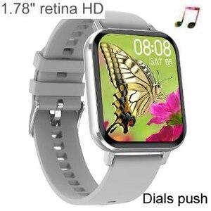 "Image 1 - DTX 1.78 ""HD ساعة ذكية الرجال معدل ضربات القلب ECG ضغط الدم Smartwatch 2020 الرياضة اللياقة البدنية سوار ل ios أندرويد هواوي شاومي"