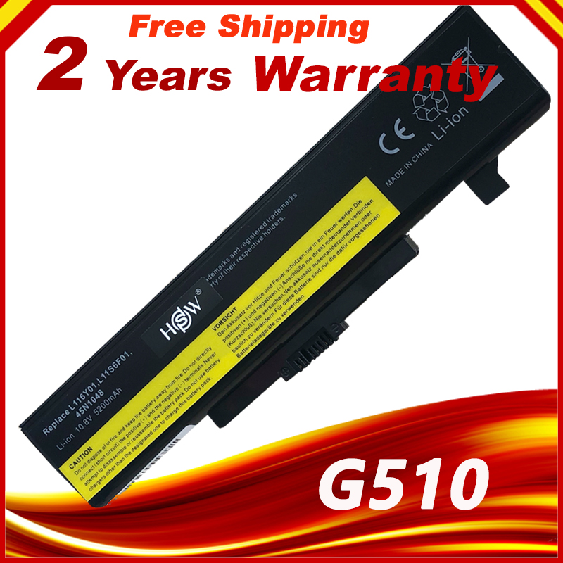 Аккумулятор для ноутбука Lenovo Y580 Y480 G510 G580 G710 G480 Z480 Z580 Z585 L11M6Y01 L11L6Y01 L11L6F01 l11l6l6r01 L11N6R01