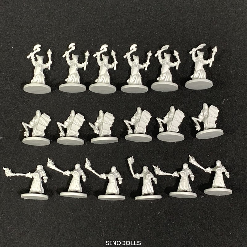 New 18PCS/Set D&D Dungeons & Dragon Role Playing Marvelous Miniatures Model Wars Board Game Figures Free Shipping