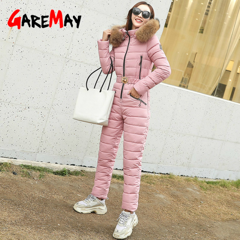 women's One Piece Ski Jumpsuit Breathable Snowboard Jacket Skiing Pant Sets Bodysuits Outdoor Snow Suits Women Winter Clothing