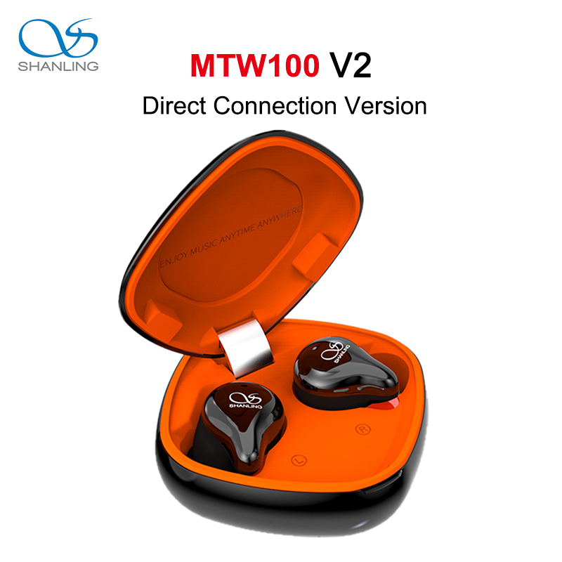 SHANLING MTW100 TWS V2 Direct Connect Bluetooth 5.0 In-ear Earphone Knowles BA/Graphene Dynamic Driver AAC/SBC IPX7 Waterproof