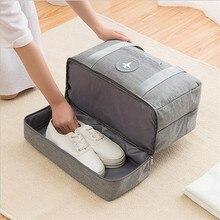 Сумка мессенджер Oxford для обуви, водонепроницаемая сумка для обуви на молнии, дорожная сумка для одежды, сумка для сухой и влажной стирки, Пляжная посылка, бесплатная доставка