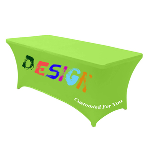 Image 2 - Custom Table cloth Rectangular Table Cloth Fitted Spandex Wedding Party Table Covers Event Stretchable Table cloth,free shipping